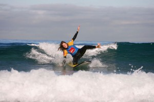 Surf durante sus vacaciones en Gran Canaria