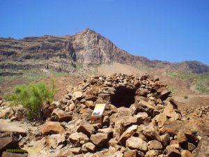 Arteara Necrepolis archäologische Freilichtmuseum Gran Canaria