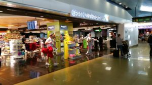 Luchthaven Las Palmas shopping hall